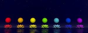 Chakras - 3D render