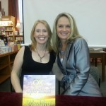 With my Executive Sparkle at Boulder Book Store Signing--Couldn't do it without her